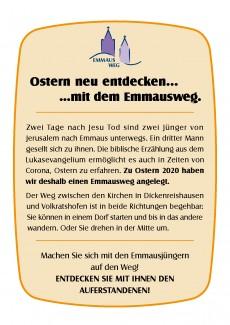 Emmausweg - Ostern anders begehen